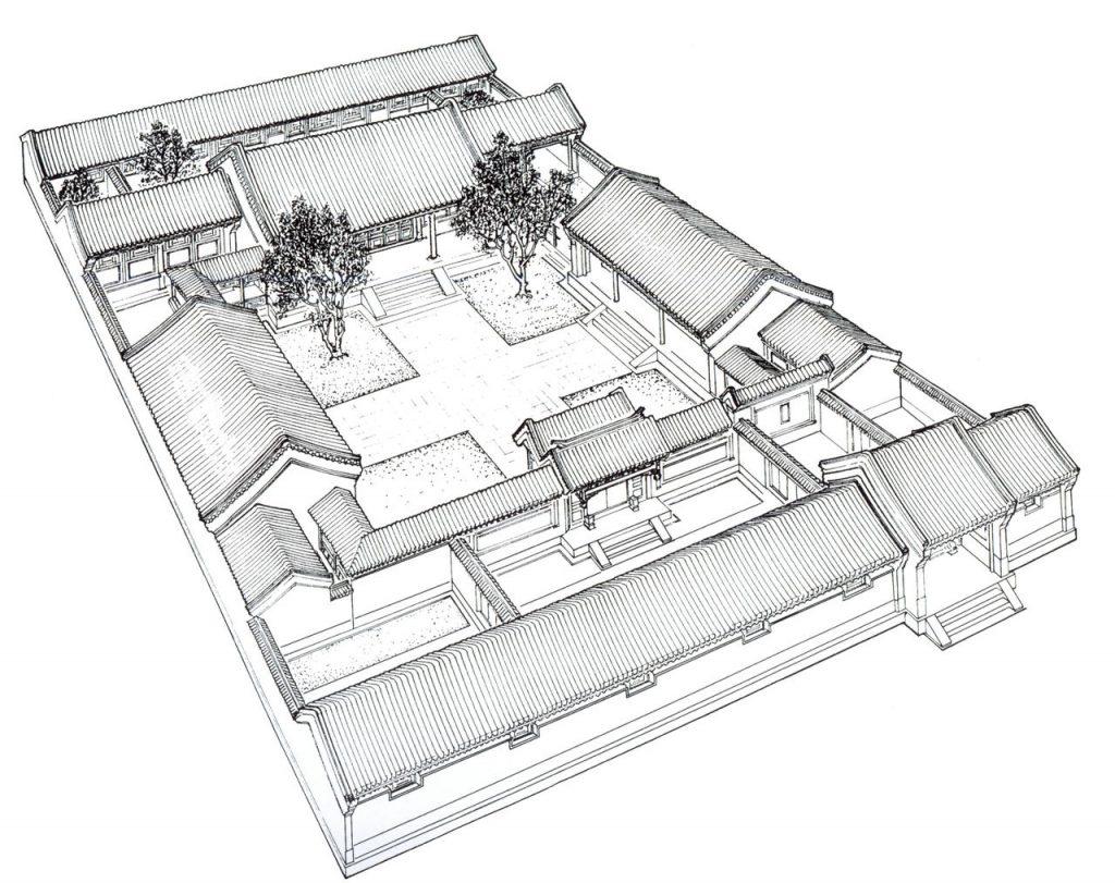 Tứ hợp viện - nét đẹp kiến trúc cổ điển Trung Quốc